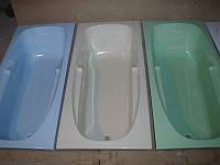 Ванна акриловая КМТ Релакс 160 X 70 с ножками цветная с перламутровым ефектом