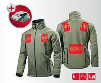 Куртка с подогревом с питанием от аккумулятора 14,4-18