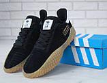 Кроссовки мужские Adidas Kamanda 31108 черные, фото 10