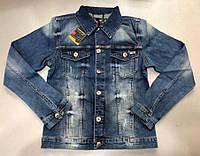 Куртка джинсовая мужская UNITED BAMBOO D5947 темно-синяя