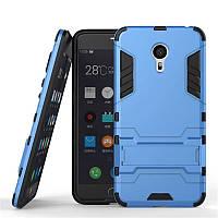 Чехол Iron для Meizu M5 Note бронированный Бампер Броня Blue
