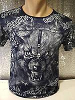 Мужская футболка двухсторонняя WOLF Турция опт р. M, L, XL, XXL