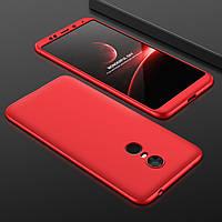 """Чехол GKK 360 для Xiaomi Redmi 5 (5.7"""") бампер оригинальный Red"""