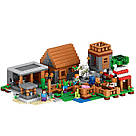 "Конструктор Lepin Minecraft 18010 ""Деревня"" 1106 деталей., фото 4"