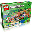 "Конструктор Lepin Minecraft 18010 ""Деревня"" 1106 деталей., фото 6"