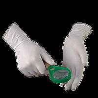 Перчатки медицинские латексные  Лаборант опудренные