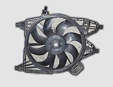 Дифузор вентилятора радіатора Рено Канго в зборі б/в