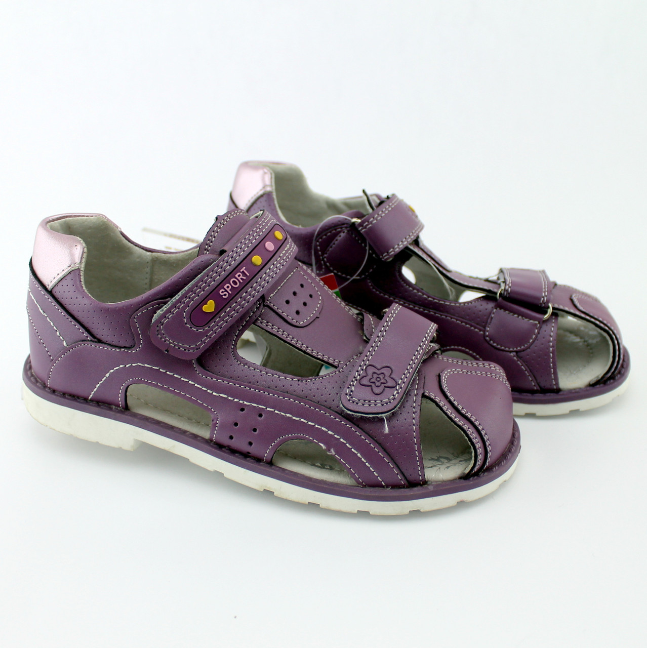 Детские Босоножки Ортопед на девочку серия летней обуви Ортопед Томм размер  32 4991614534d38