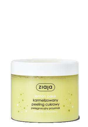 Пилинг для тела Ziaja Lemon Cake лимонно-ванильный, 300 мл