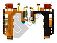 Шлейф  Sony D6502 Xperia Z2 L50W/D6503/D6543, с кнопкой включения, с кнопками регулировки громкости, с кнопкой камеры, с микрофоном