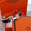 Браслет Hermes (реплика) розовое золото, эмаль, фото 2