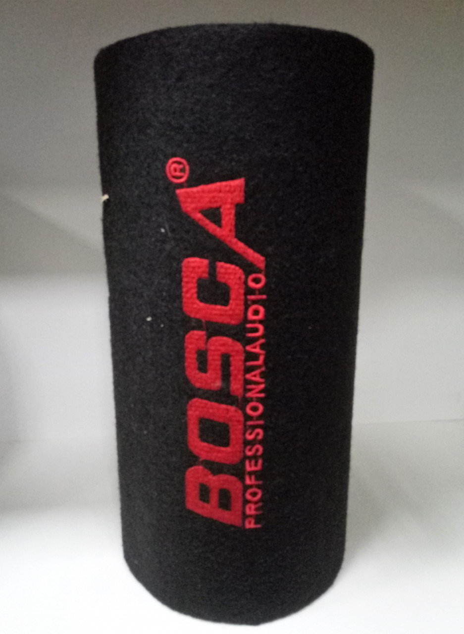 """Сабвуфер активный BOSCA 5"""" в машину сабвуфер 29*15 см стильный  фазоинвертором"""