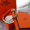 Браслет Hermes (реплика) розовое золото, эмаль, фото 5