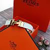 Браслет Hermes (реплика) розовое золото, эмаль, фото 6
