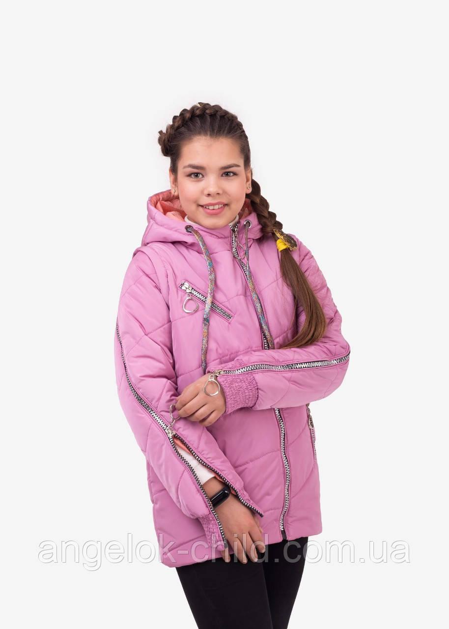 1954d08f70928 Весенняя куртка для девочки
