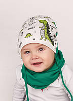Набор для мальчика( шапка +хомут) ТМ Dembo House арт. Фолкет 9 - aea1bc138f23b