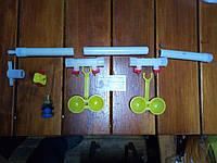 Комплект ниппельного поения на два двойных модуля, фото 1