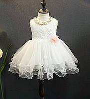 Нарядное платье для девочки  размер 86.