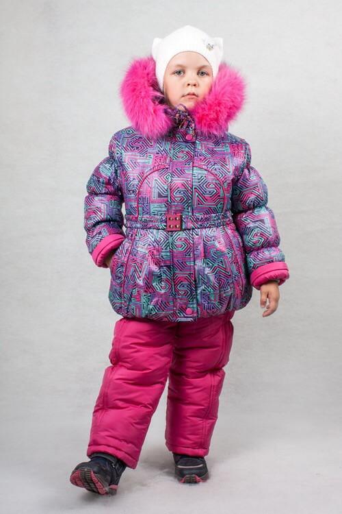 8e1defcf3ed1 Детский зимний костюм для девочки от производителя 24-32 - Ukraine-textile  в Киеве