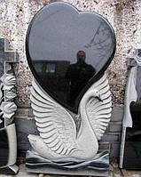 Памятник из гранита Лебедь, фото 1