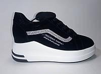 Женские кожаные кроссовки на платформе ТМ Lonza