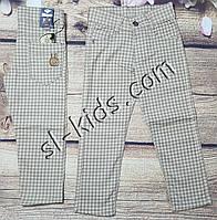 Яркие штаны,джинсы для мальчика 3-6 лет(клетка бежевые) розн пр.Турция