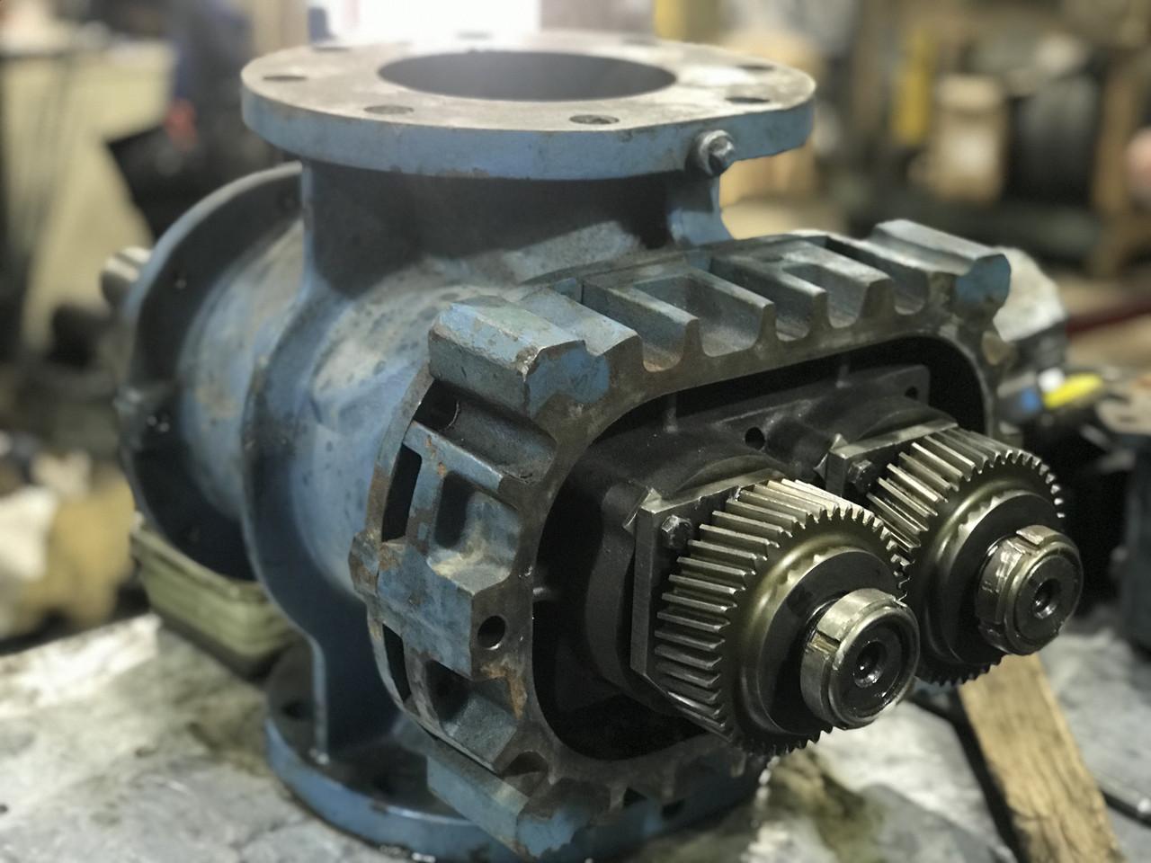 Ремонт Robuschi RBS, ВР, EL, ES роторного блока воздуходувки