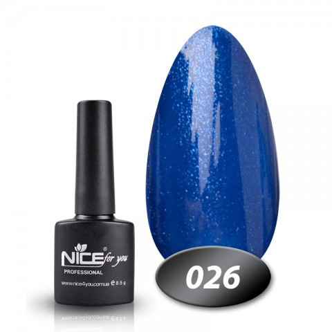 Гель лак Nice for you 8.5ml, №26