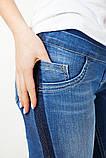 Джинсы-скинни для беременных синие, размер 50, фото 5