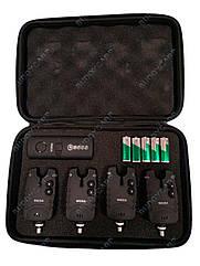Набор сигнализаторов 4+1 пейджер Weida в кейсе (WD02)