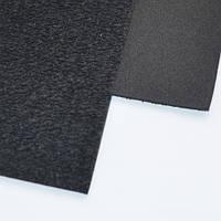 Фоамиран с флоком (ворсистый) черный 10 листов (2мм/20x30см)