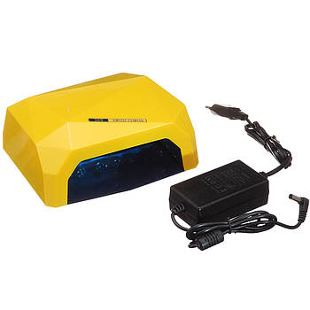 Лампа гибридная Nail Lamp 36W CCFL+LED Желтая