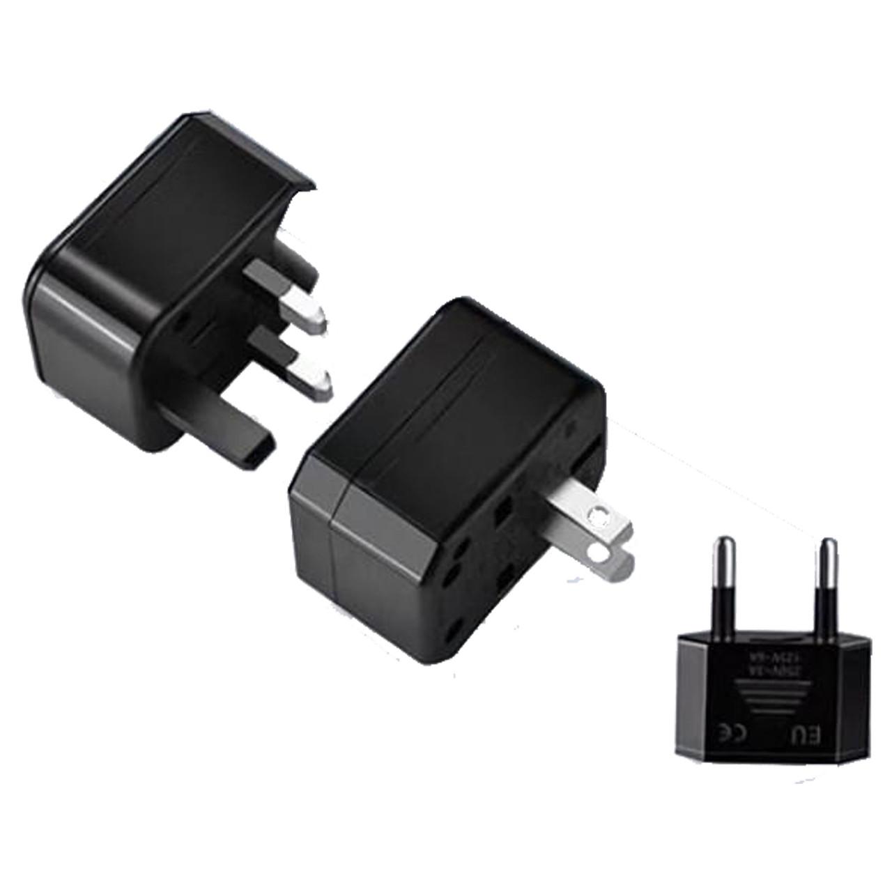 Сетевой переходник Konfulon UC01 5-9V/1-1,2A MultiStandart Black