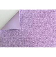 Фоамиран с флоком (ворсистый) сиреневый 10 листов (2мм/20x30см)