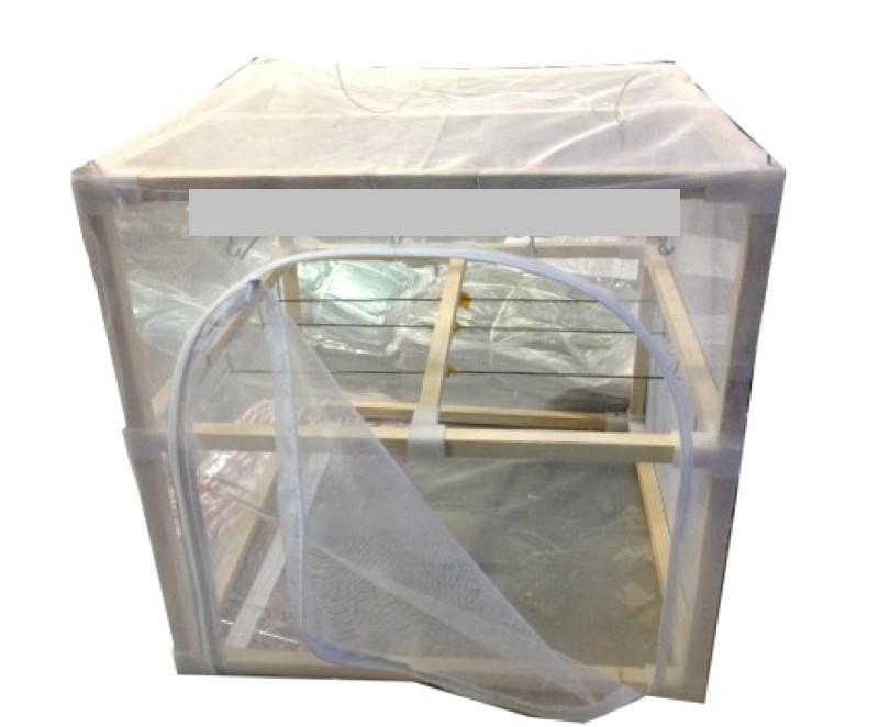 Сушилка для рыбы двухъярусная,сушилка деревянная сборно-разборная - ЭКО-2