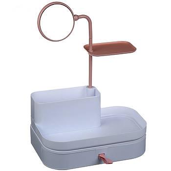 Органайзер для косметики Cosmetic Organizer с зеркалом 7009