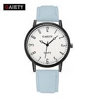 Женские наручные кварцевые часы c бледно-голубым ремешком 87610 | 4 Цвета, фото 1