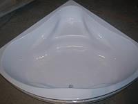 Ванна акриловая угловая КМТ Релакс 4мм 150 X 150 с ножками и панелью