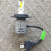 Светодиодная лампа H4 COB LED 72W (цена за 1штуку) пара 6500К