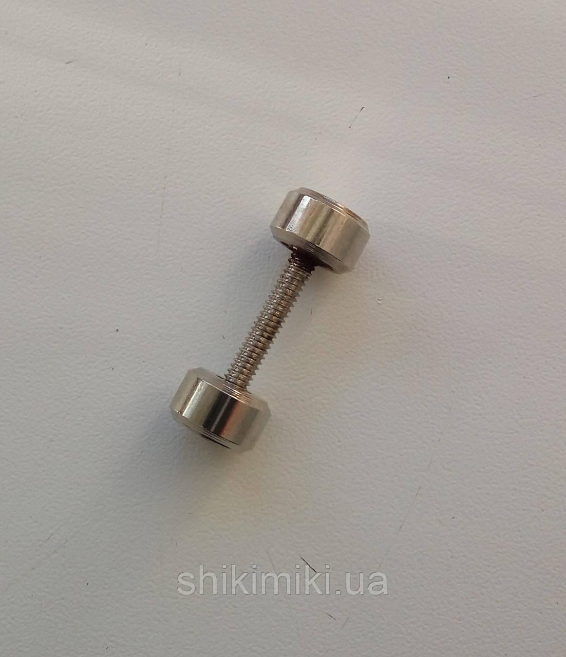 Штанга SH01-1 (18 мм), цвет никель