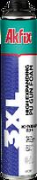 Профессиональная монтажная пена AKFIX 3XL 65л  850мл 930гр
