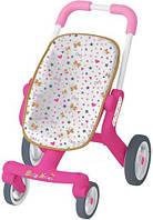 Коляска для кукол прогулочная c поворотными колесами Smoby 251223