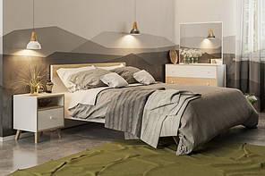 """Модульна спальня """"Еріка"""" від Світ меблів (белый,дуб сонома)."""