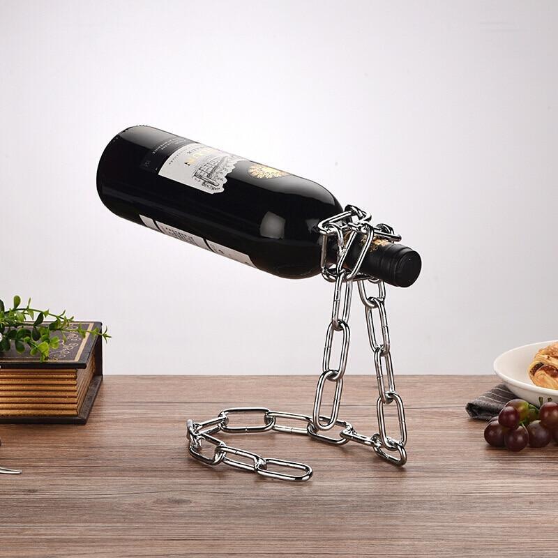 Тримач - підставка пляшки вина оригінальний Youe Світилася №0002