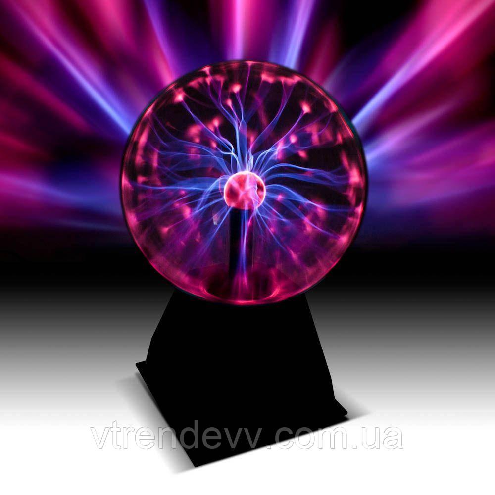 Шар плазменный Plasma Light Magic Flash Ball 12 см