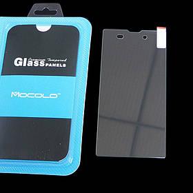 Защитное стекло Sony Xperia T3 M50w (Mocolo 0.33mm)