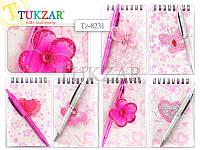 TZ 8231 Детский блокнот с шариковой ручкой Tukzar