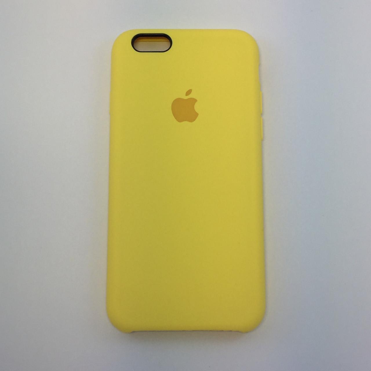 Силиконовый чехол для iPhone 6/6s Plus, - «холодный лимонад» - copy original