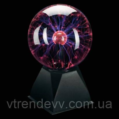 Шар Тесла плазменный Plasma Light Magic Flash Ball большой 15 см  6 дюймов