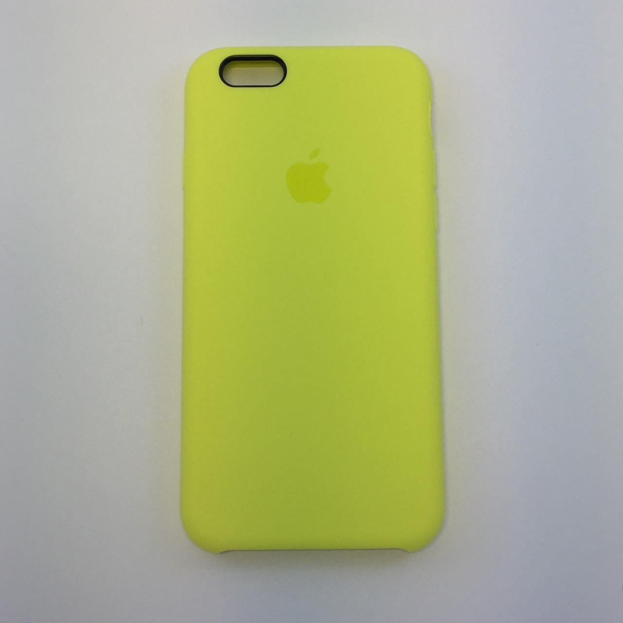 Силиконовый чехол для iPhone 6/6s Plus, - «вспышка» - copy original